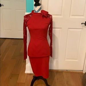 NWT Sexy Red Dress Size Small